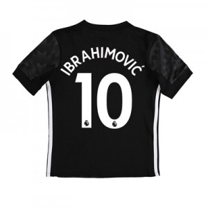 Manchester United Away Shirt 2017-18 – Kids with Ibrahimovic 10 printi