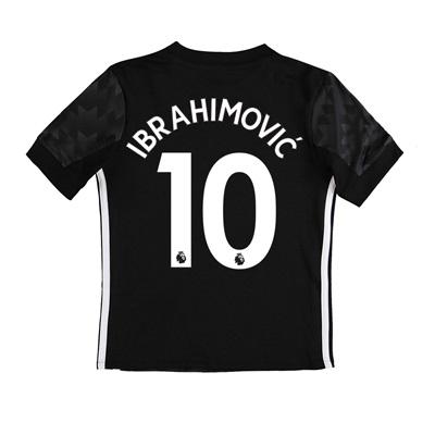 Manchester United Away Shirt 2017-18 – Kids with Ibrahimovic 10 printi
