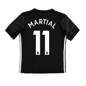 Manchester United Away Shirt 2017-18 – Kids with Martial 11 printing