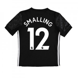 Manchester United Away Shirt 2017-18 – Kids with Smalling 12 printing