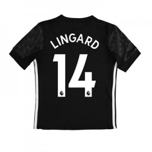 Manchester United Away Shirt 2017-18 – Kids with Lingard 14 printing