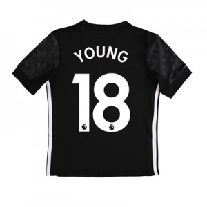 Manchester United Away Shirt 2017-18 – Kids with Young 18 printing