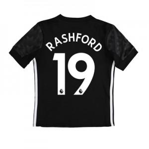 Manchester United Away Shirt 2017-18 – Kids with Rashford 19 printing