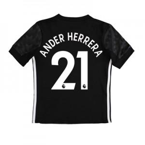 Manchester United Away Shirt 2017-18 – Kids with Ander Herrera 21 prin