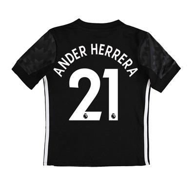 Manchester United Away Shirt 2017-18 – Kids with Ander Herrera 21 prin