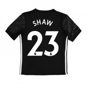 Manchester United Away Shirt 2017-18 – Kids with Shaw 23 printing