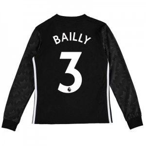 Manchester United Away Shirt 2017-18 – Kids – Long Sleeve with Bailly