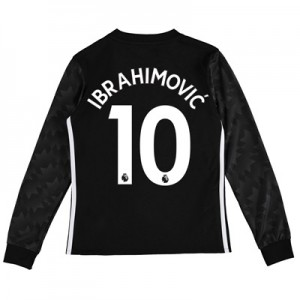 Manchester United Away Shirt 2017-18 – Kids – Long Sleeve with Ibrahim