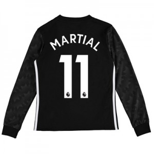 Manchester United Away Shirt 2017-18 – Kids – Long Sleeve with Martial