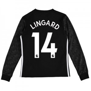 Manchester United Away Shirt 2017-18 – Kids – Long Sleeve with Lingard