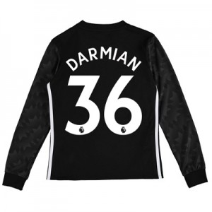 Manchester United Away Shirt 2017-18 – Kids – Long Sleeve with Darmian