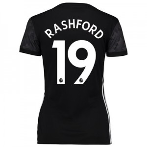 Manchester United Away Shirt 2017-18 – Womens with Rashford 19 printin