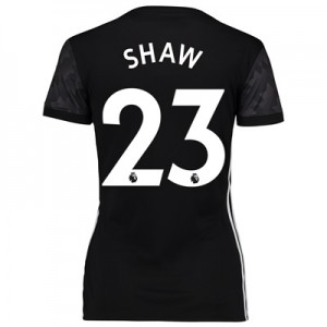 Manchester United Away Shirt 2017-18 – Womens with Shaw 23 printing
