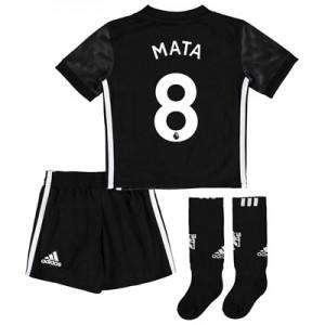 Manchester United Away Mini Kit 2017-18 with Mata 8 printing