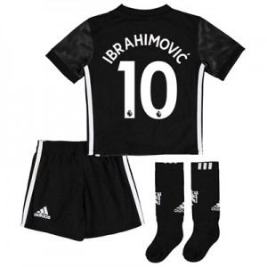 Manchester United Away Mini Kit 2017-18 with Ibrahimovic 10 printing