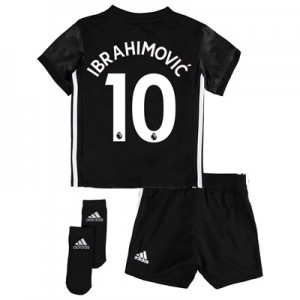 Manchester United Away Baby Kit 2017-18 with Ibrahimovic 10 printing