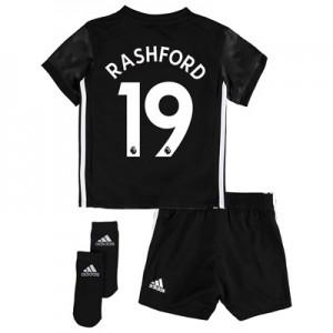 Manchester United Away Baby Kit 2017-18 with Rashford 19 printing