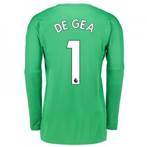 Manchester United Away Goalkeeper Shirt 2017-18 with De Gea 1 printing