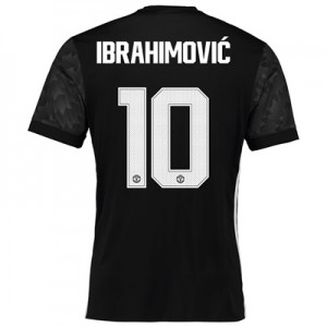 Manchester United Away Cup Shirt 2017-18 with Ibrahimovic 10 printing