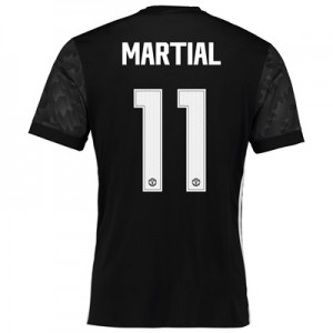 Manchester United Away Cup Shirt 2017-18 with Martial 11 printing