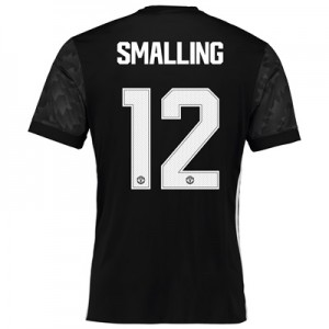 Manchester United Away Cup Shirt 2017-18 with Smalling 12 printing