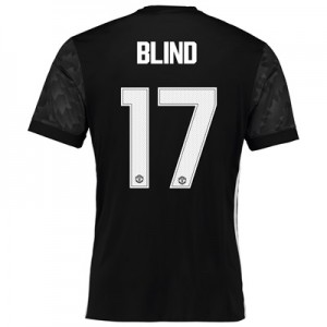 Manchester United Away Cup Shirt 2017-18 with Blind 17 printing