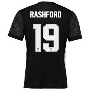 Manchester United Away Cup Shirt 2017-18 with Rashford 19 printing