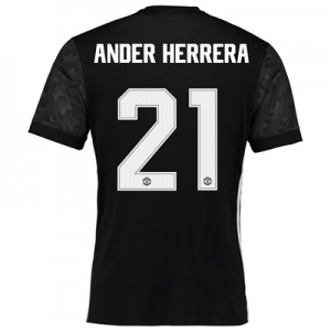 Manchester United Away Cup Shirt 2017-18 with Ander Herrera 21 printin