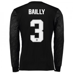 Manchester United Away Cup Shirt 2017-18 – Long Sleeve with Bailly 3 p