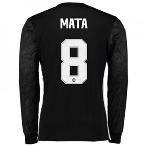 Manchester United Away Cup Shirt 2017-18 – Long Sleeve with Mata 8 pri