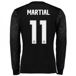 Manchester United Away Cup Shirt 2017-18 – Long Sleeve with Martial 11