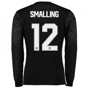 Manchester United Away Cup Shirt 2017-18 – Long Sleeve with Smalling 1