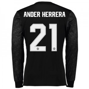 Manchester United Away Cup Shirt 2017-18 – Long Sleeve with Ander Herr