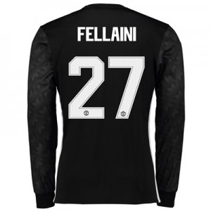 Manchester United Away Cup Shirt 2017-18 – Long Sleeve with Fellaini 2
