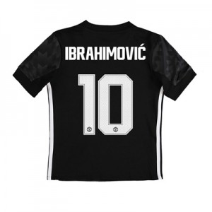Manchester United Away Cup Shirt 2017-18 – Kids with Ibrahimovic 10 pr