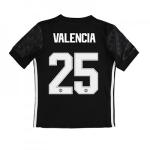 Manchester United Away Cup Shirt 2017-18 – Kids with Valencia 25 print