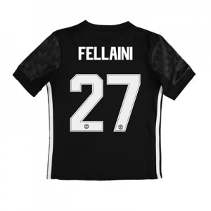 Manchester United Away Cup Shirt 2017-18 – Kids with Fellaini 27 print