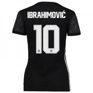 Manchester United Away Cup Shirt 2017-18 – Womens with Ibrahimovic 10