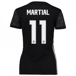 Manchester United Away Cup Shirt 2017-18 – Womens with Martial 11 prin