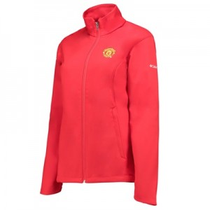 Manchester United Columbia Kruser Ridge Softshell Jacket – Cherrybomb
