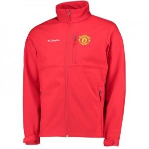 Manchester United Columbia Ascender Softshell Jacket – Cherrybomb – Me