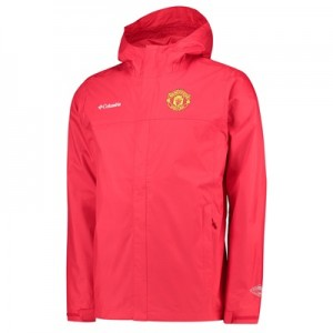 Manchester United Columbia Watertight ll Jacket – Cherrybomb – Mens