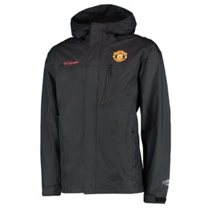 Manchester United Columbia Pouring Adventure Jacket – Black – Mens