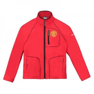 Manchester United Columbia Fast Trek Full Zip Fleece Jacket – Cherrybo