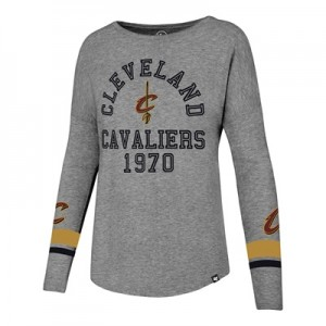 """""""Cleveland Cavaliers 47 Encore Courtside Long Sleeve T-Shirt – Womens"""""""
