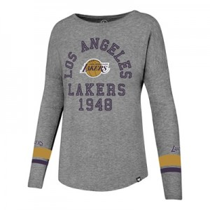 """Los Angeles Lakers 47 Encore Courtside Long Sleeve T-Shirt – Womens"""