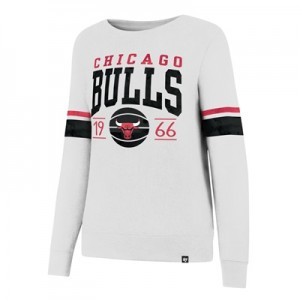 """Chicago Bulls 47 Ultra Throwback Crew – Womens"""