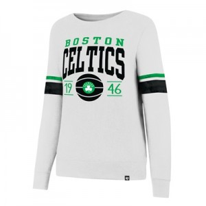 """Boston Celtics 47 Ultra Throwback Crew – Womens"""