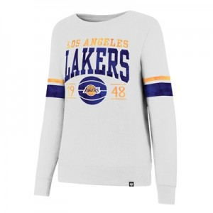 """""""Los Angeles Lakers 47 Ultra Throwback Crew – Womens"""""""