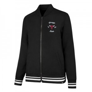 """Chicago Bulls 47 Melrose Satin Jacket – Womens"""